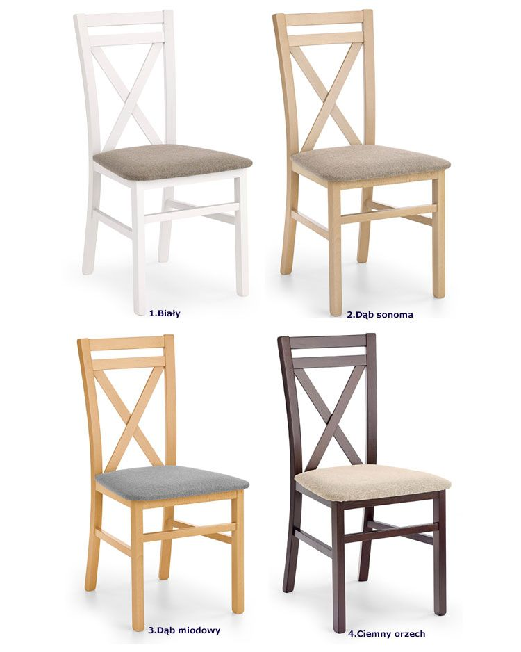 Drewniane krzesło do salonu jadalni kuchni Vegas