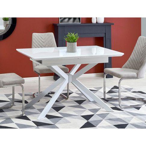 Zdjęcie produktu Rozkładany stół Rabor - biały.