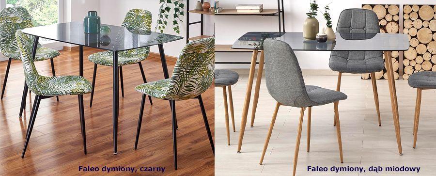 Designerski stół szklany Faleo - do salonu