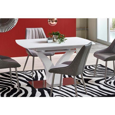 Zdjęcie produktu Rozkładany stół Sofari - biały.