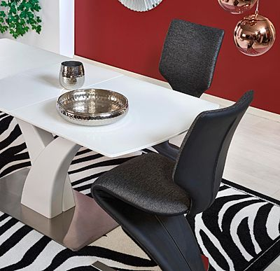Biały stół Sofari - rozkładany