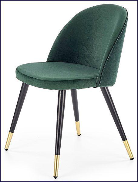 Zielone krzesło kuchenne Noxin