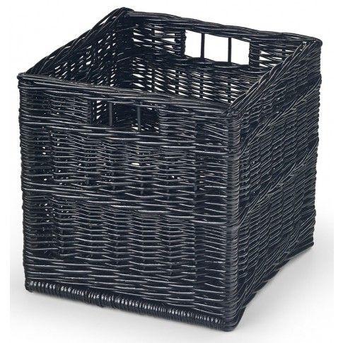 Zdjęcie produktu Szuflada wiklinowa Heidi - czarna.