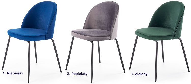 Tapicerowane krzesło kuchenne Anvar