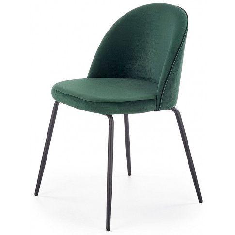 Zdjęcie produktu Krzesło tapicerowane Anvar - zielone.