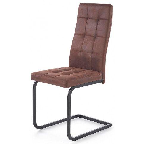Zdjęcie produktu Krzesło industrialne Senter - brązowe.