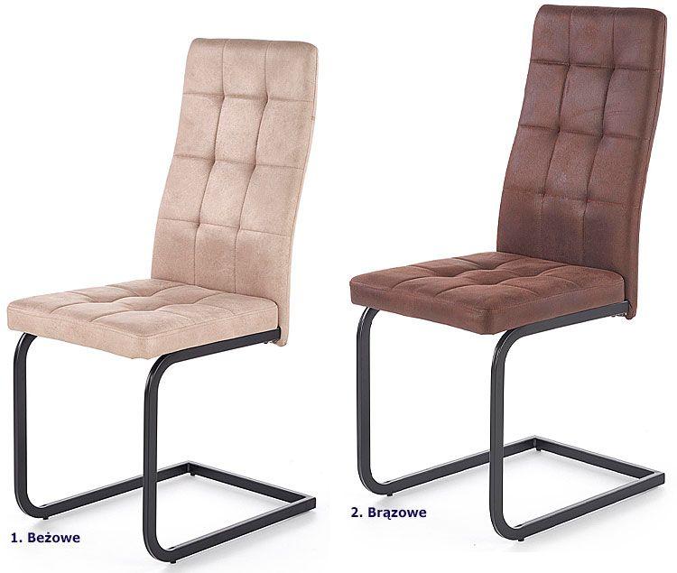 Industrialne krzesło tapicerowane Senter