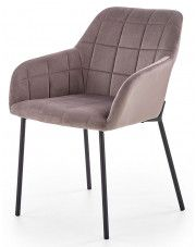 Krzesło industrialne Zeppen - popielate