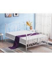 Łóżko Lafio 120x200 cm - białe