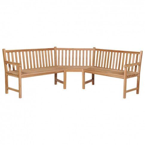Zdjęcie produktu Ogrodowa ławka narożna Katrina.