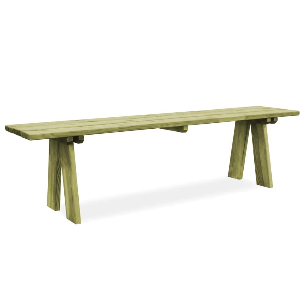 Ławka drewniana Lenta minimalistyczna rustykalna