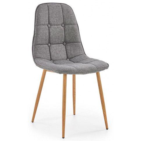 Zdjęcie produktu Krzesło pikowane Skamer - popielate.