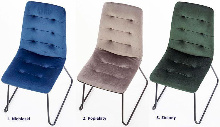 Pikowane krzesło do kuchni, jadalni, salonu Hider