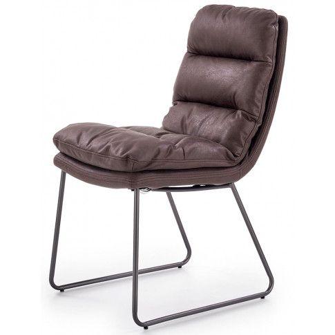 Zdjęcie produktu Krzesło tapicerowane Trevor - popielate.
