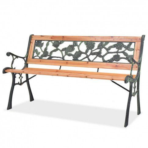 Zdjęcie produktu Drewniana ławka ogrodowa Rosa.