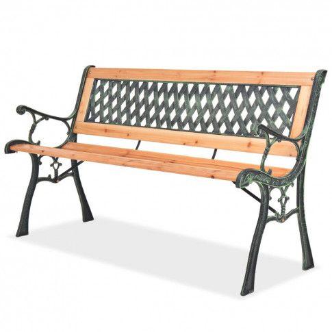 Zdjęcie produktu Drewniana ławka ogrodowa Rosa 2X.