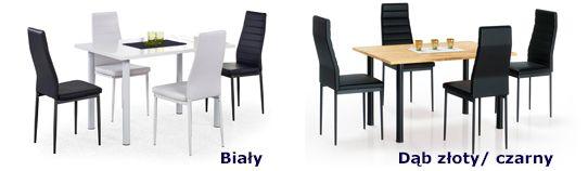 Modne stoły Silius - nowoczesne