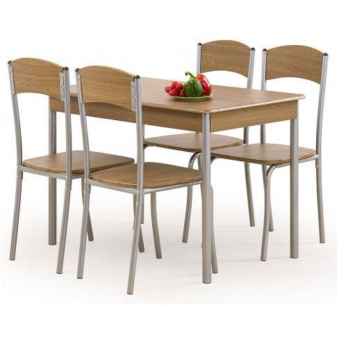 Zdjęcie produktu Stół z krzesłami Tolers - orzech.