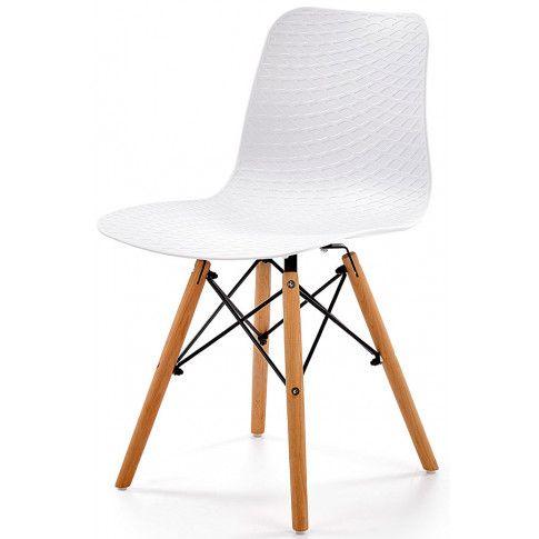Zdjęcie produktu Krzesło industrialne Allan - białe.
