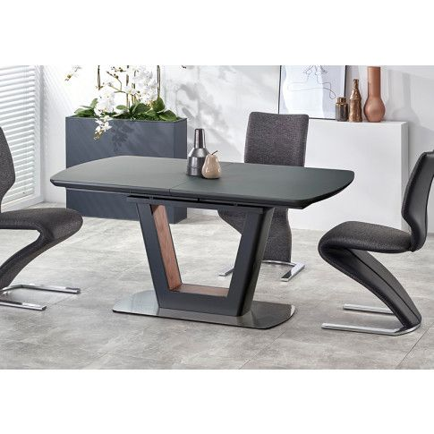 Zdjęcie produktu Rozkładany stół Tanum - antracyt.