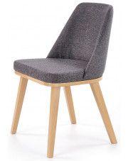 Krzesło drewniane Master - popielate