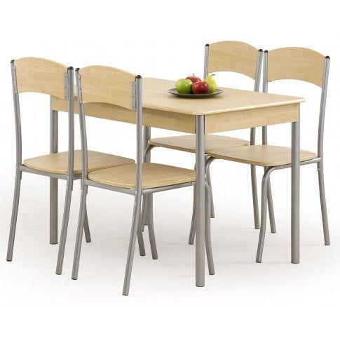 Zdjęcie produktu Stół z krzesłami Tolers - jasny dąb.