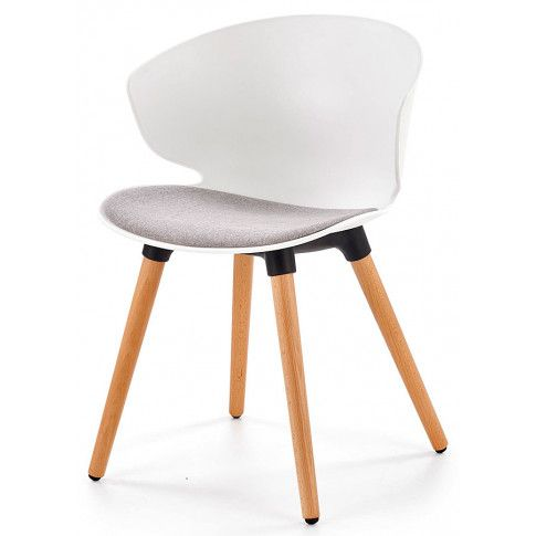 Zdjęcie produktu Krzesło skandynawskie Kris - białe.