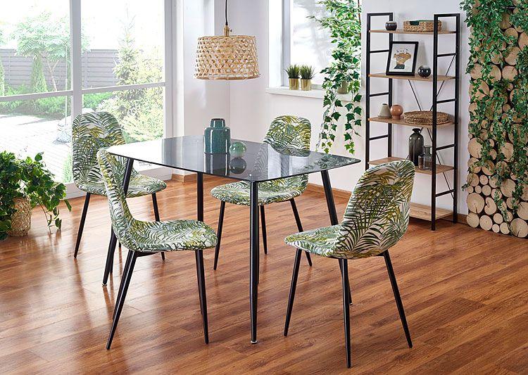 Kolorowe krzesła do stołu w kuchni lub salonie Marti