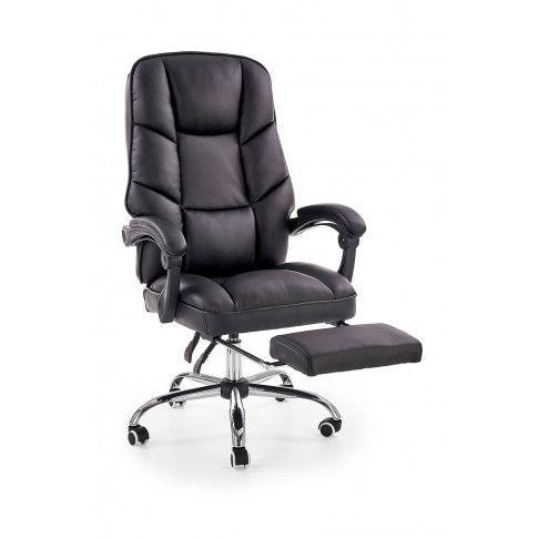Zdjęcie produktu Ergonomiczny fotel gabinetowy Midio - czarny .
