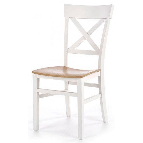 Zdjęcie produktu Krzesło drewniane Toran - białe.
