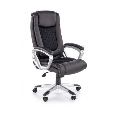 Zdjęcie produktu Fotel gabinetowy Midel - czarny .