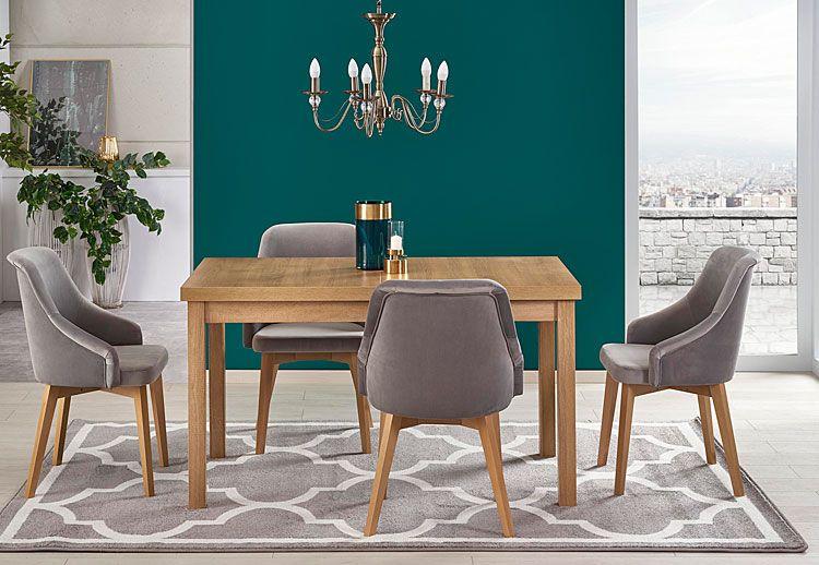 Szare krzesło w minimalistycznym stylu Altex 2X