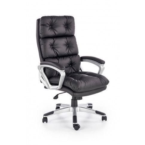 Zdjęcie produktu Fotel gabinetowy Filip - czarny.