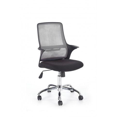 Zdjęcie produktu Fotel obrotowy Inver - czarny + popielaty.