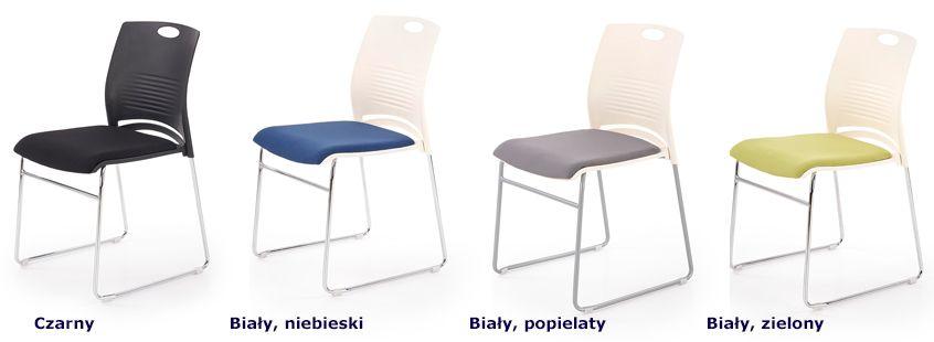 Stylowe fotele konferencyjne Memos - minimalistyczne