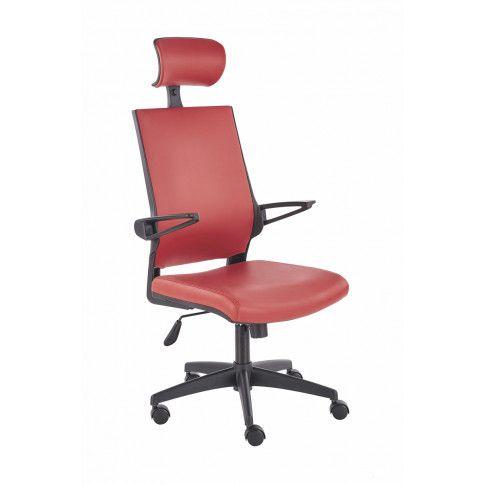 Zdjęcie produktu Fotel obrotowy Roftel - czerwony .