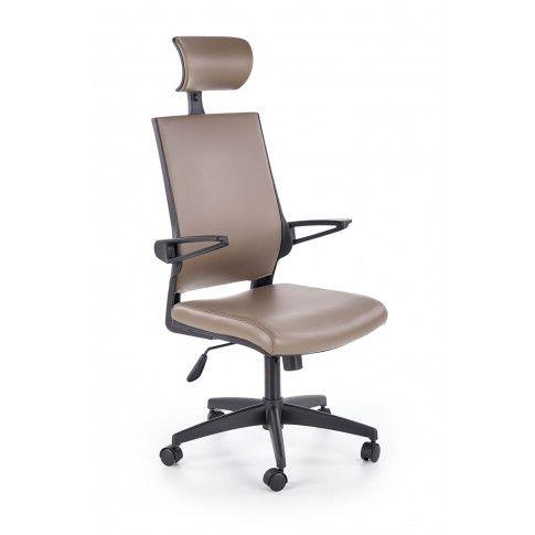 Zdjęcie produktu Fotel obrotowy Roftel - popielaty.