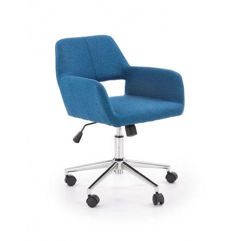 Zdjęcie produktu Fotel obrotowy Sofaro - niebieski.
