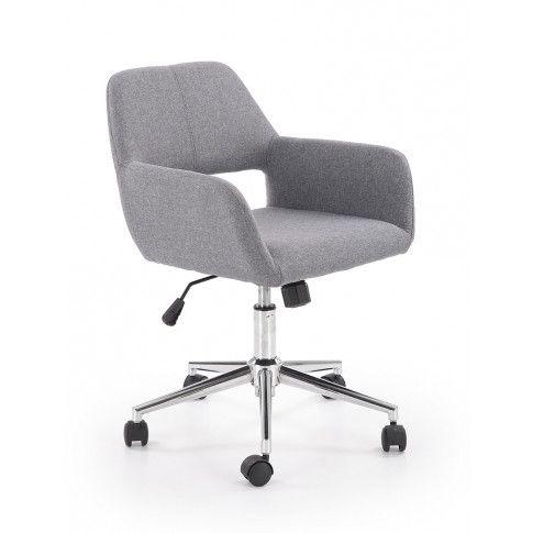 Zdjęcie produktu Fotel obrotowy Sofaro - popielaty.