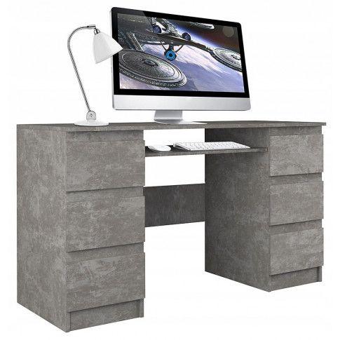 Zdjęcie produktu Biurko dla ucznia Liner 2X - beton.