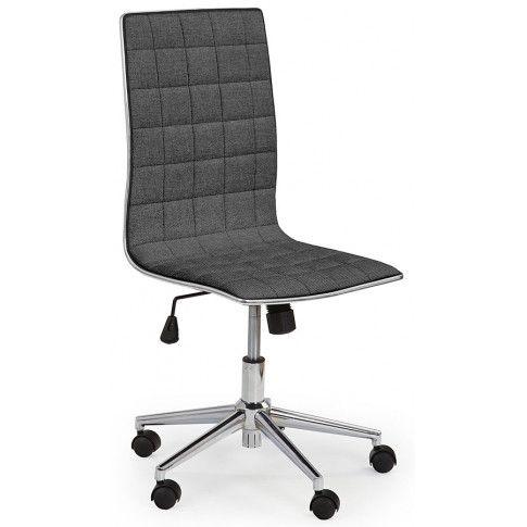 Zdjęcie produktu Fotel obrotowy Polin 2X - ciemny popiel.