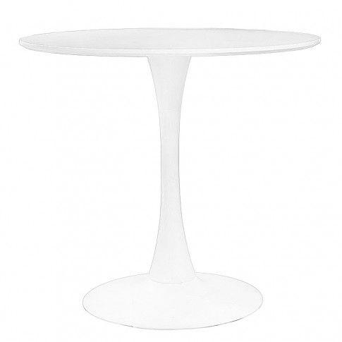 Zdjęcie produktu Stół okrągły Catrin - biały.
