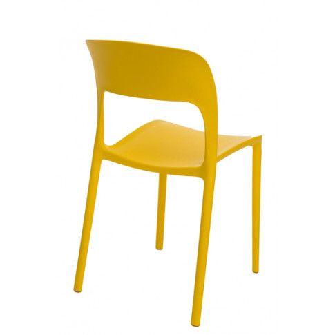 Zdjęcie produktu Krzesło Deliot 2X - żółte.
