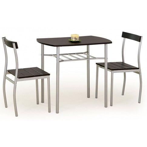 Zdjęcie produktu Stół z krzesłami Twiner - wenge.