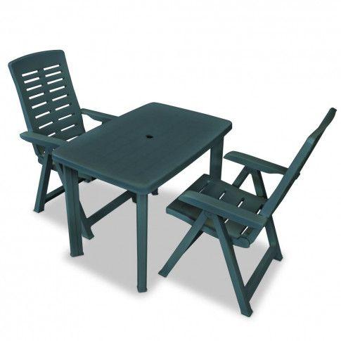 Zdjęcie produktu Zestaw mebli ogrodowych Elexio - zielony.