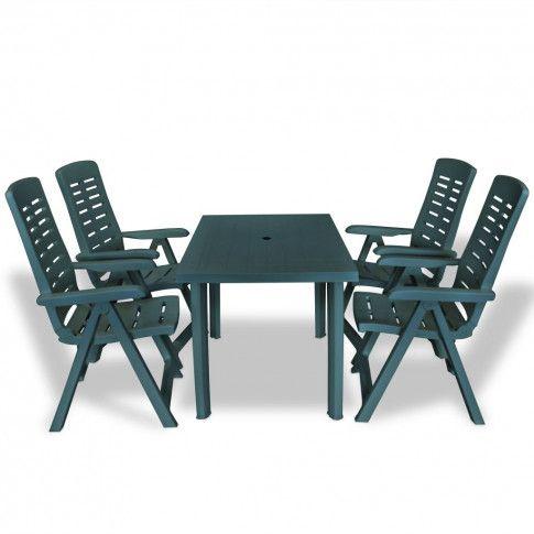 Zdjęcie produktu Zestaw mebli ogrodowych Elexio 2X - zielony.