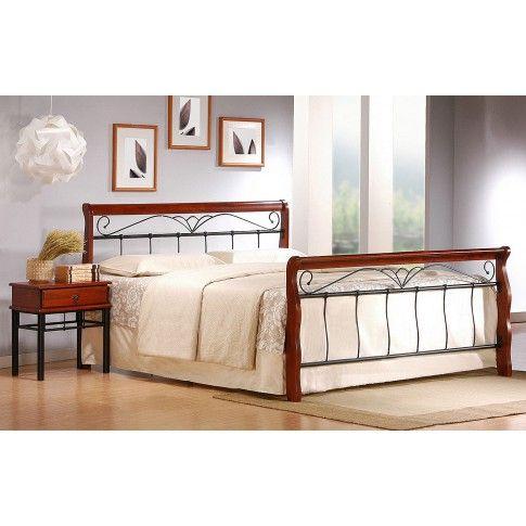 Zdjęcie produktu Eleganckie łóżko Delixa 180x200.