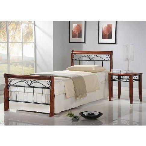 Zdjęcie produktu Jednosobowe łóżko Delixa 90x200.