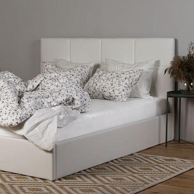 Stylowe łóżko Mariel - białe
