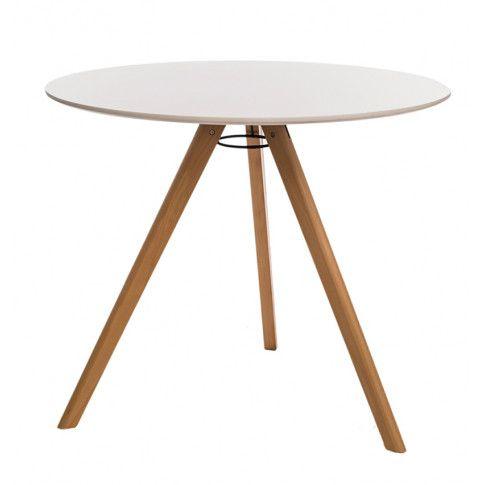 Zdjęcie produktu Okrągły biały stolik Lanum.